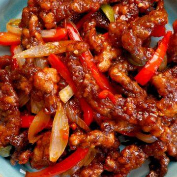 sweet chilli beef