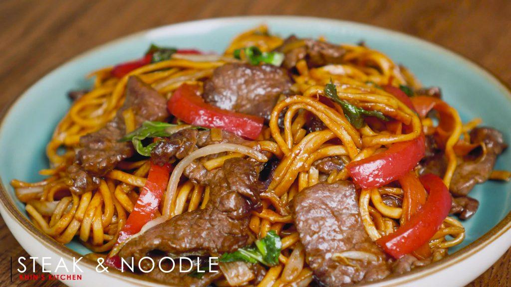 Beef & Noodles Stir Fry
