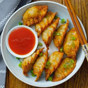 crispy deep fried dumplings