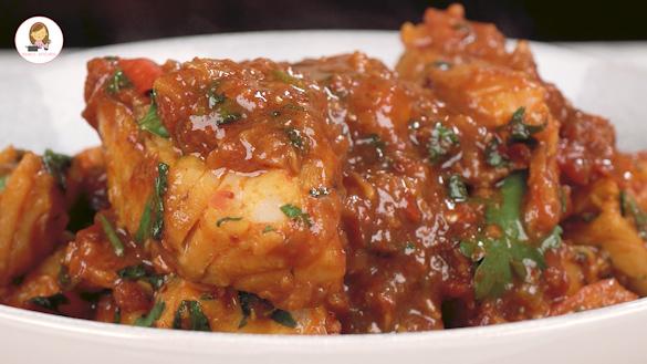 Fish curry (Burmese Style)