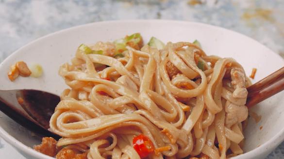 Crispy Garlic Noodles