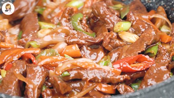 Korean spicy beef