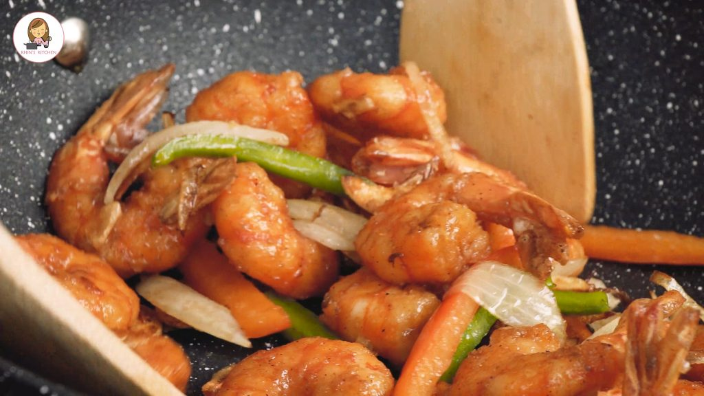 Chinese Salt and Pepper Prawns