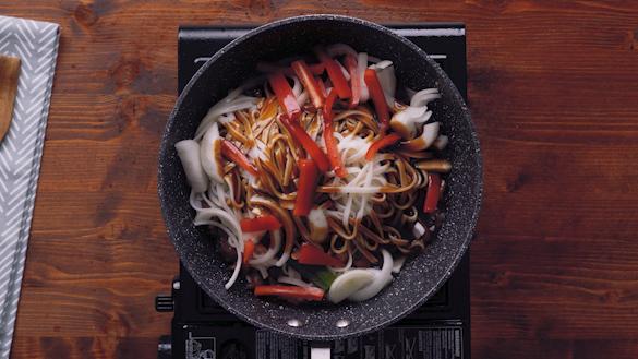 Hoisin Beef Noodle
