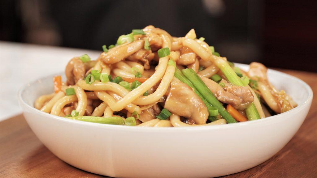 Stir-Fried Udon ( Yaki Udon )