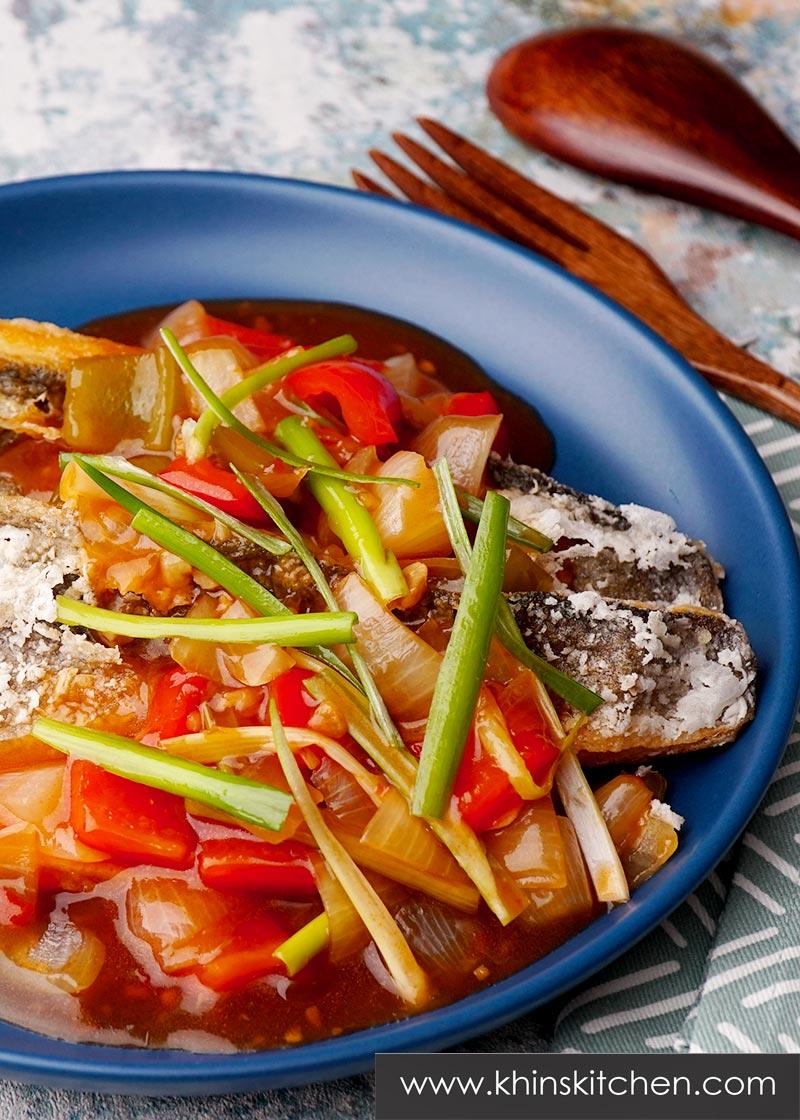 Crispy Sweet Chilli Fish