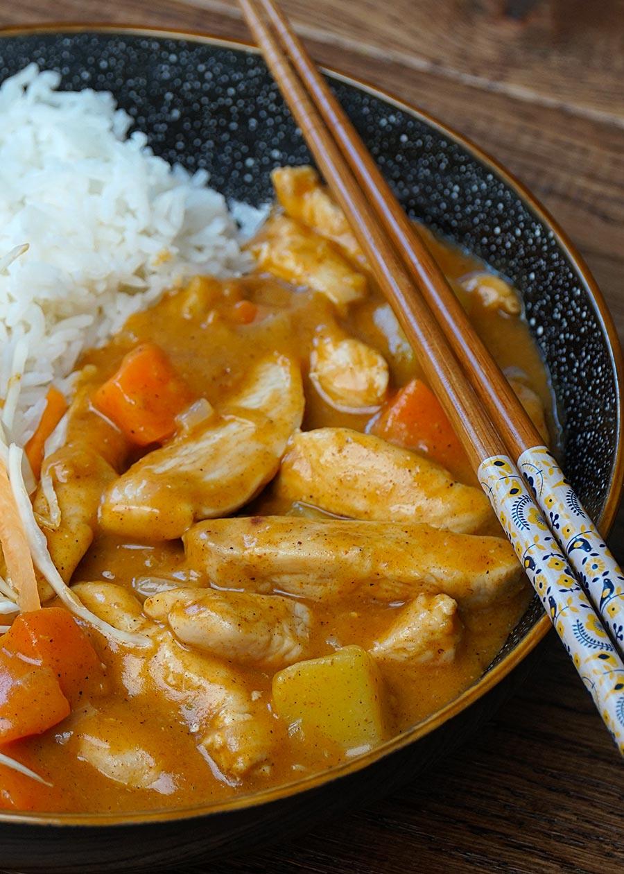 japanese curry chicken