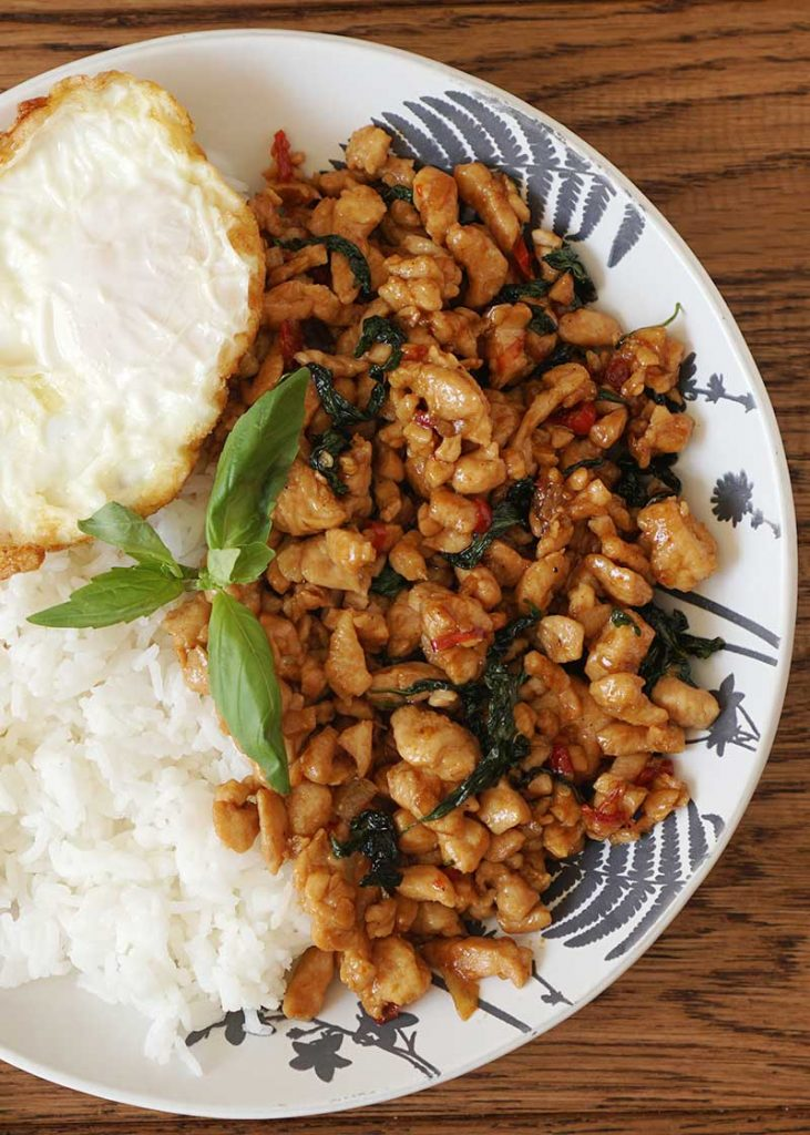 Thai Spicy Basil Chicken