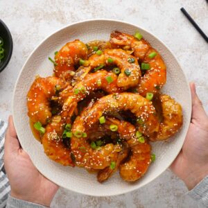 crispy honey shrimp