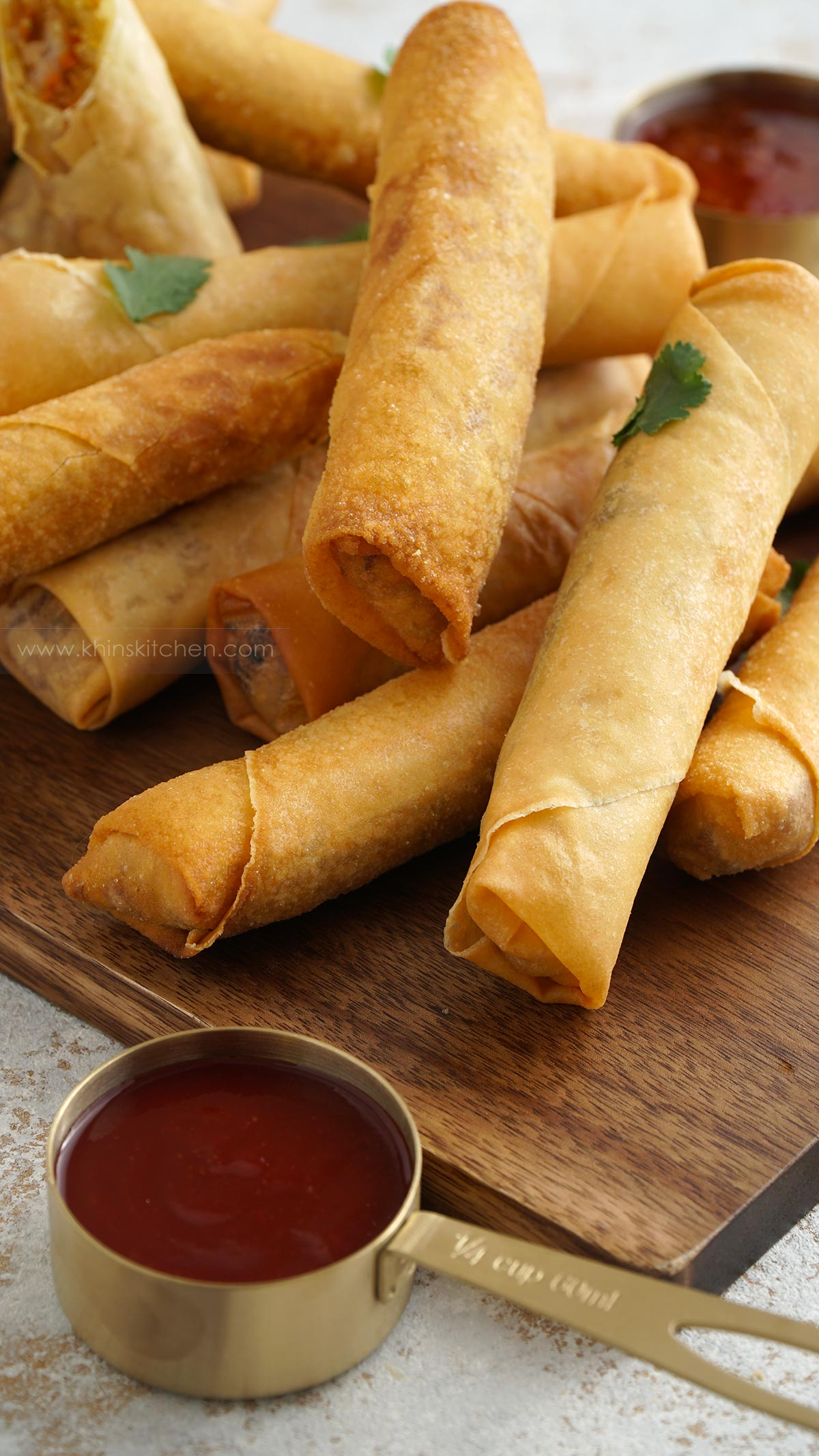thai chicken spring roll